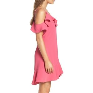 Nordstrom Dresses - BNWT Chelsea28 Ruffle Cold Shoulder Minidress